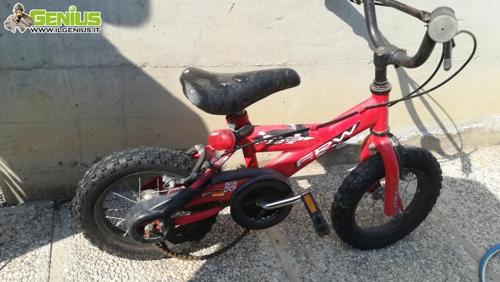 Bicicletta Bambino Frw Bmx Rossa Vendo Tel 3475402828 Ivano