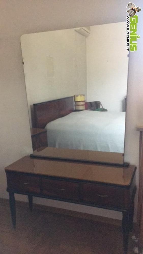 Camera da letto in legno anni \'50 composta da armadio 5 ...